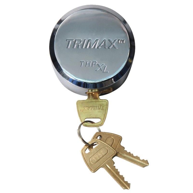 Trimax Hockey Puck Internal Shackle Trailer Door Lock Univ Fit Re-Keyable