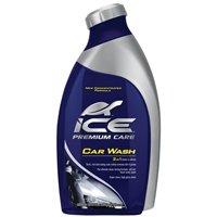 Ice T472RC Biodegradable Car Wash and Wax, 48 oz, Bottle, Pale Blue, Liquid