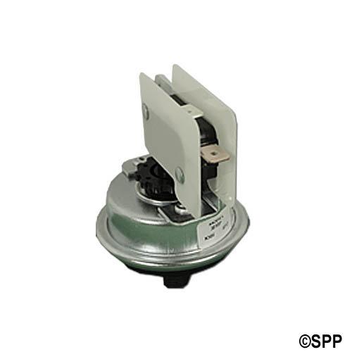 """Pressure Switch, Tecmark, SPST, 25 Amp, 1-5 Psi, 1/8"""" NPT, Plastic"""
