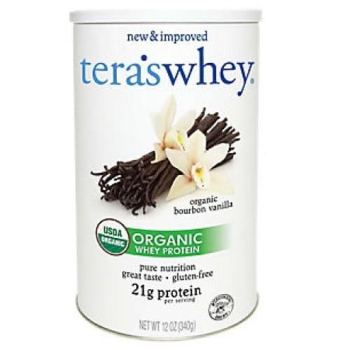 Tera's Whey Organic Vanilla Whey Protein (1x12Oz)