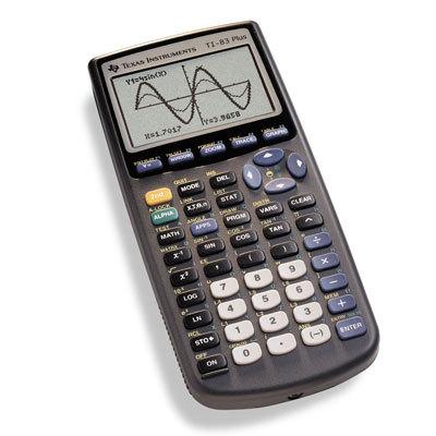 TI 83 Plus Graphics Calculator