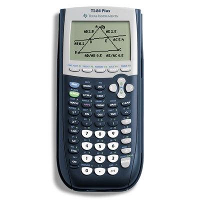 TI 84 Plus Graphics Calculator