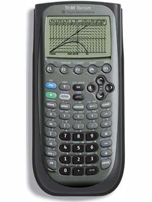 TI 89 Graphing Calculator Titanium