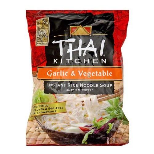 Thai Kitchen Instant Rice Noodle Soup Garlic & Vegetable (12x16 OZ)