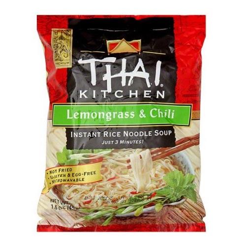 Thai Kitchen Lemongrass & Chili Instant Rice Noodle Soup (12x16 OZ)