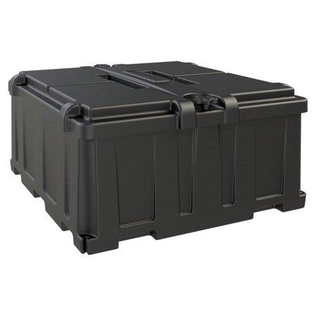 DUAL 8D BATTERY BOX BLACK