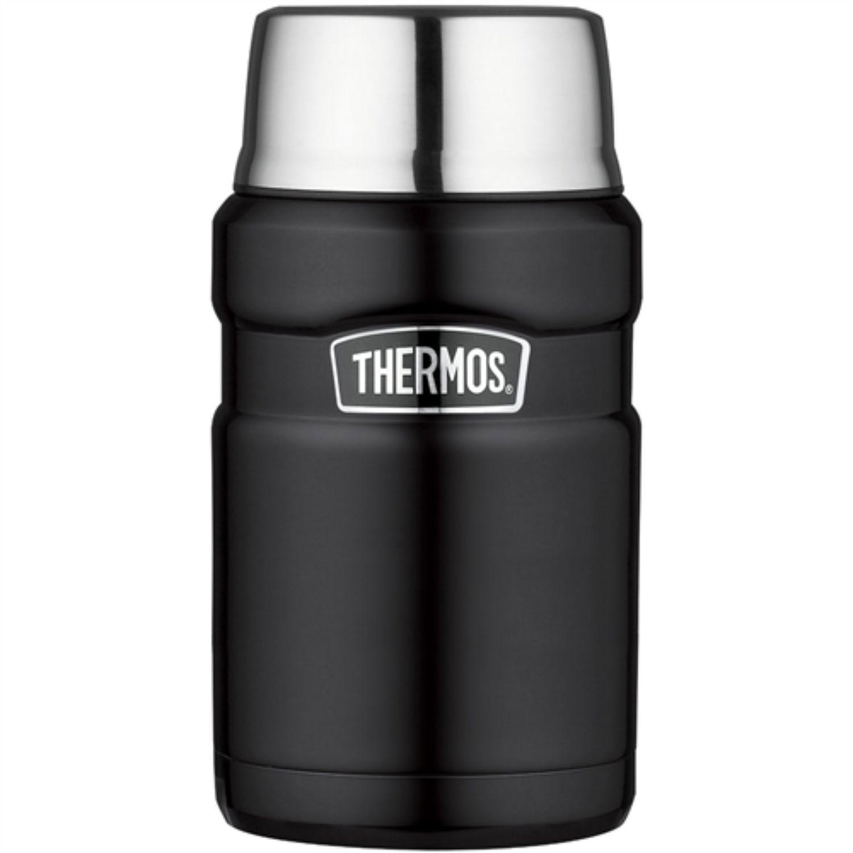 Thermos 24 oz Stainless Steel Food Jar Black