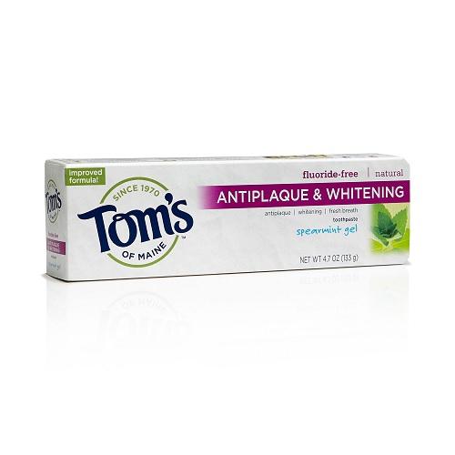 Toms of Maine Fresh Mint Fluoride Free Whitening Toothpaste (24x3 OZ)