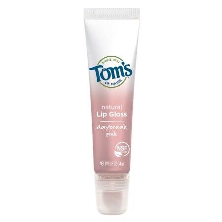 Tom's of Maine Lip Gloss Daybreak Pink (12x05 OZ)