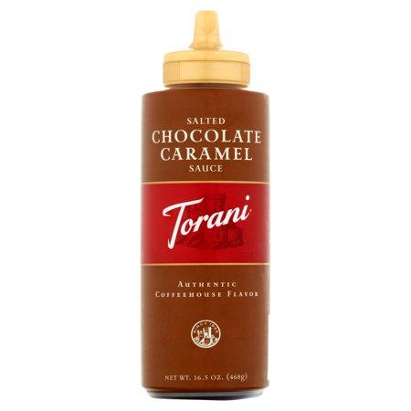 Torani Salted Chocolate Caramel Sauce (6x165 OZ)