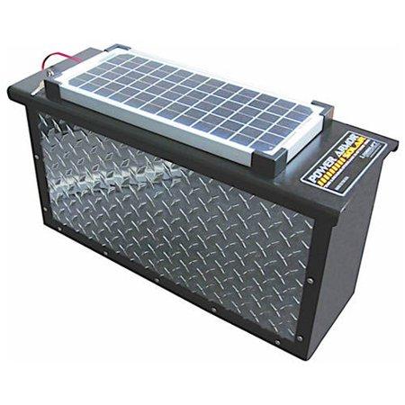 SOLAR POWERARMOR DH; POLISHED ALUMINUM (6 AND 12 VOLT)