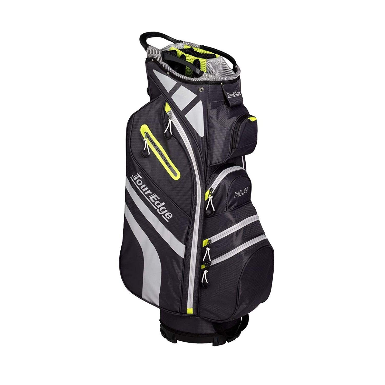 Tour Edge Hot Launch HL4 Ladies Golf Cart Bag-Silver Lime