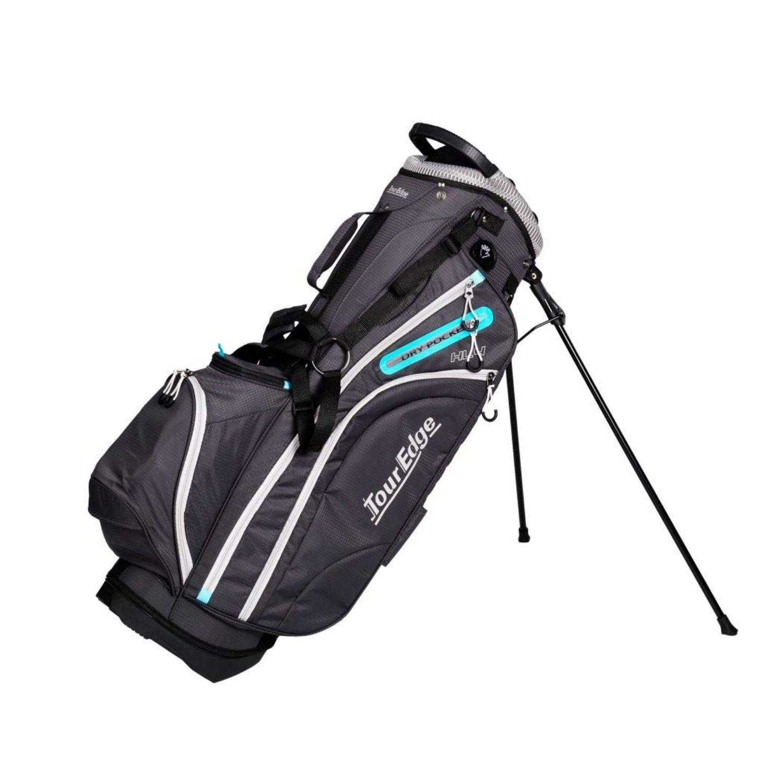 Tour Edge Hot Launch HL4 Ladies Golf Stand Bag-Sil Blue Blk