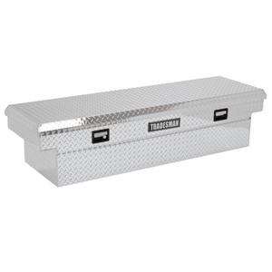 """70"""" Aluminum Cross Bed Tool Box"""