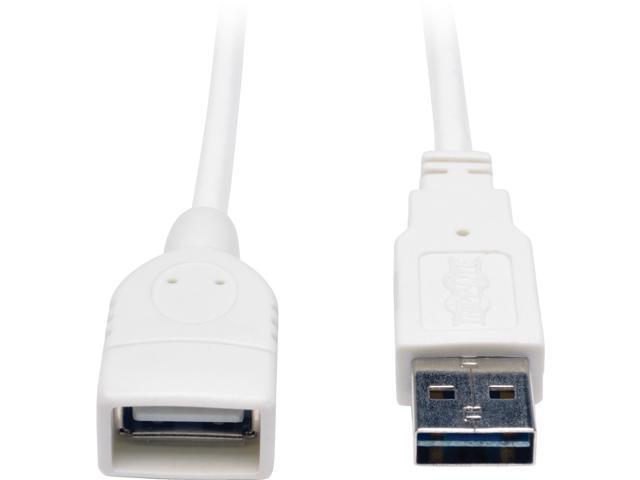 3FT USB 2.0 Universal Cbl Wht