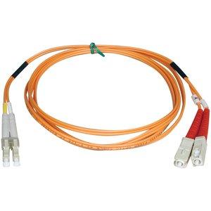 1 Meter Duplex LC/SC 50/125 Fiber Cable