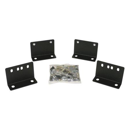 03-C WRANGLER DRAWER MOUNTING KIT BLACK FOR USE W/ 021 OR 130