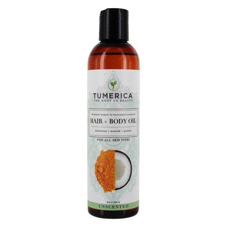 Tumerica Hair and Body Oil  Coconut  Turmeric  8 oz