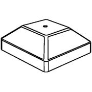 PCP44 4X4 PLASTIC POST CAP