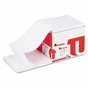 Computer Paper, 18lb, 9-1/2 x 11, Letter Trim Perforations, White, 2700 Sheets