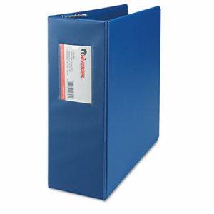 "D-Ring Binder, 4"" Capacity, 8-1/2 x 11, Royal Blue"