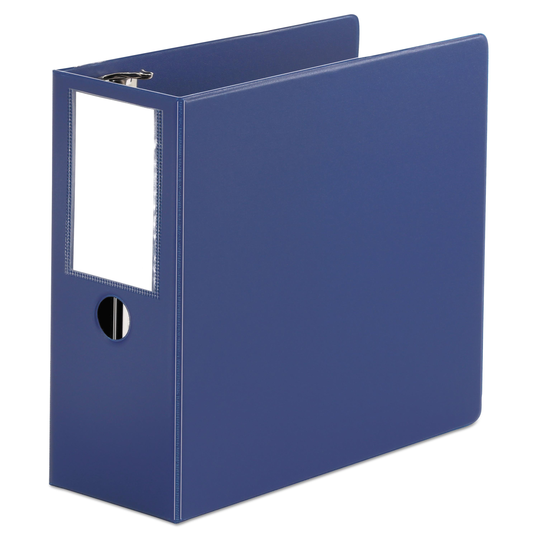 "D-Ring Binder, 5"" Capacity, 8-1/2 x 11, Royal Blue"