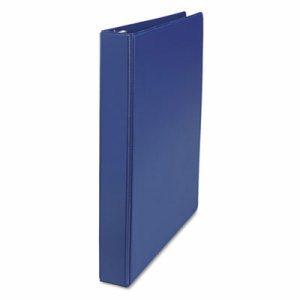 "D-Ring Binder, 1"" Capacity, 8-1/2 x 11, Royal Blue"