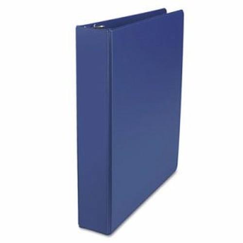 "D-Ring Binder, 1-1/2"" Capacity, 8-1/2 x 11, Royal Blue"