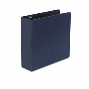 "D-Ring Binder, 3"" Capacity, 8-1/2 x 11, Royal Blue"