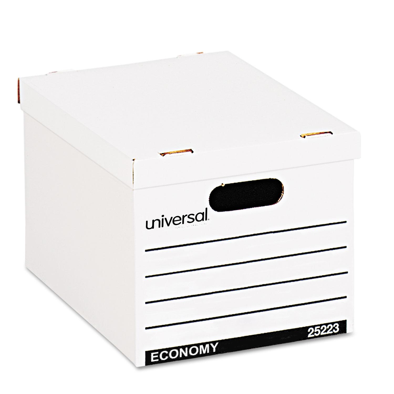 Economy Boxes, 12 x 15 x 9 7/8, White, 10/Carton