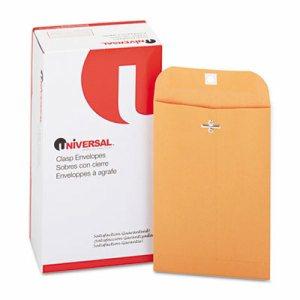 Kraft Clasp Envelope, 28lb, #55, 6 x 9, Brown Kraft, 100/Box