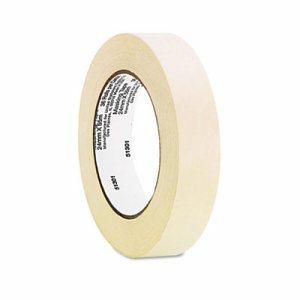 "General Purpose Masking Tape, 24mm x 54.8m, 3"" Core, 3/Pack"