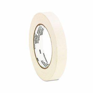"General Purpose Masking Tape, 18mm x 54.8m, 3"" Core, 6/Pack"