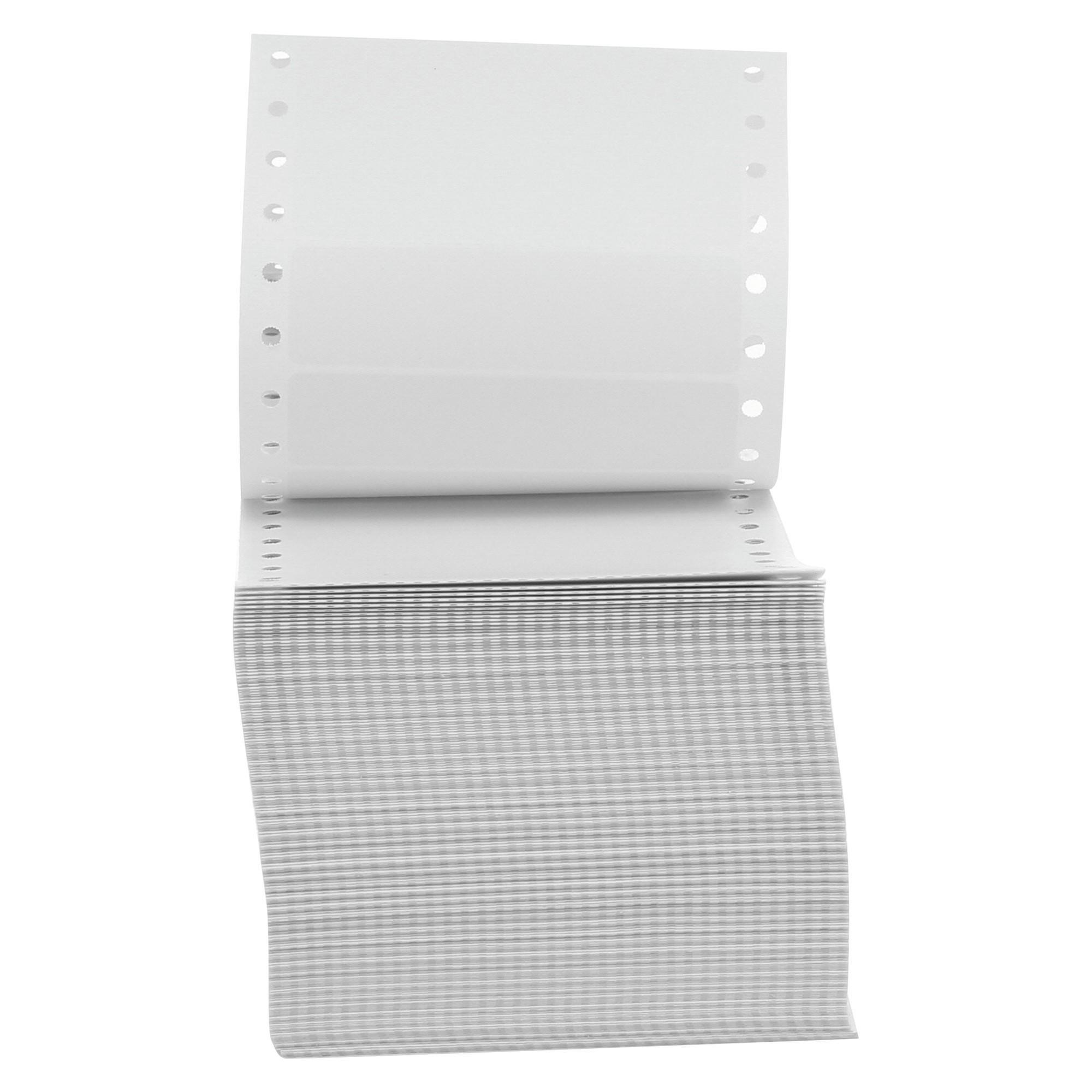Dot Matrix Printer Labels, 1 Across, 15/16 x 3-1/2, White, 5000/Box