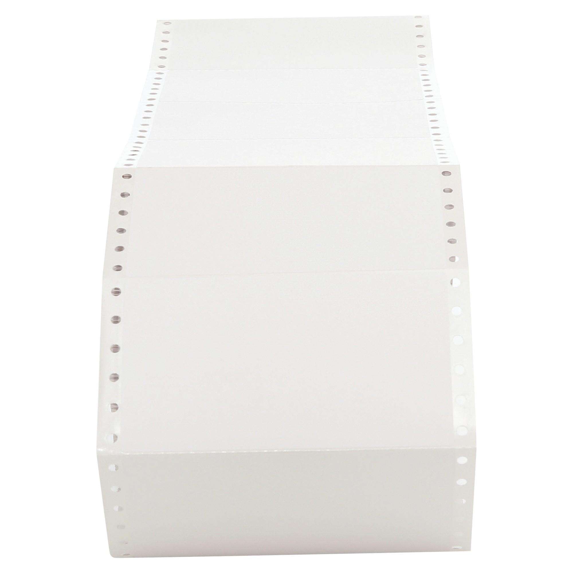Dot Matrix Printer Labels, 1 Across, 2-15/16 x 5, White, 3000/Box