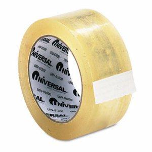 """Heavy-Duty Box Sealing Tape, 48mm x 50m, 3"""" Core, Clear"""