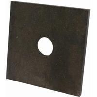 USP Lumber BP583 Standard Bearing Plate, 3 in L x 3 in W x 1/4 in T, Steel, G60 Galvanized