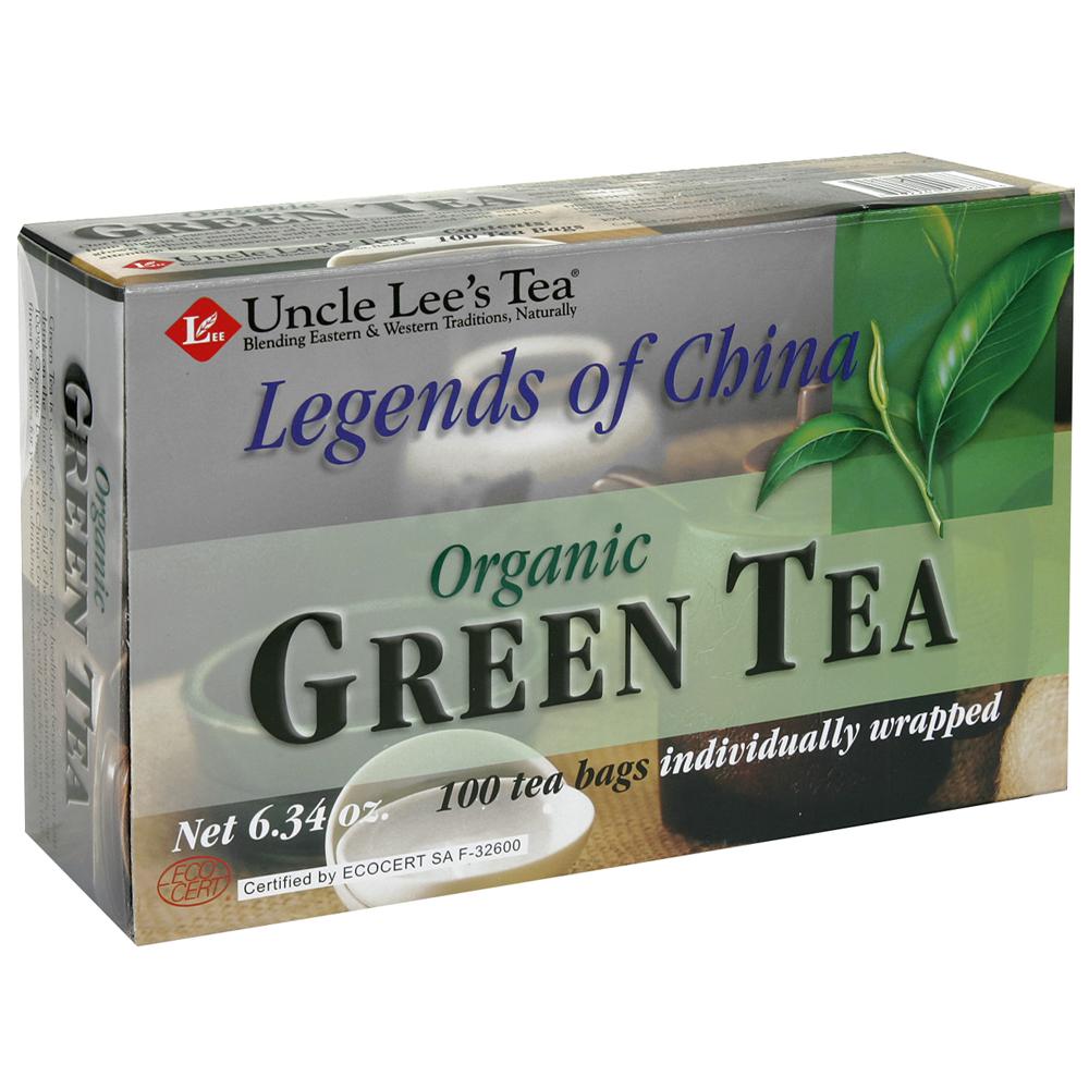 Uncle Lee's Legends of China Organic Green Tea (1x100 Tea Bags)