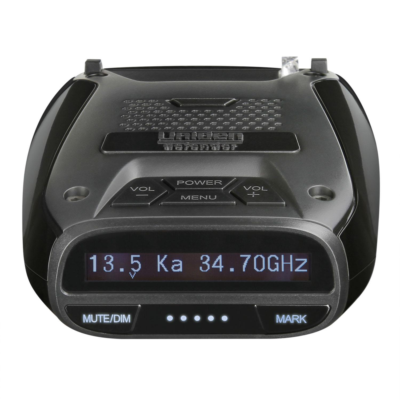 UNIDEN - DELUXE RADAR/LASER DETECTOR WITH BUILT IN GPS FOR RED LIGHT & SPEED CAMERAS, MAX SPEED WARNING, VOICE ALERT, SIGNAL STR