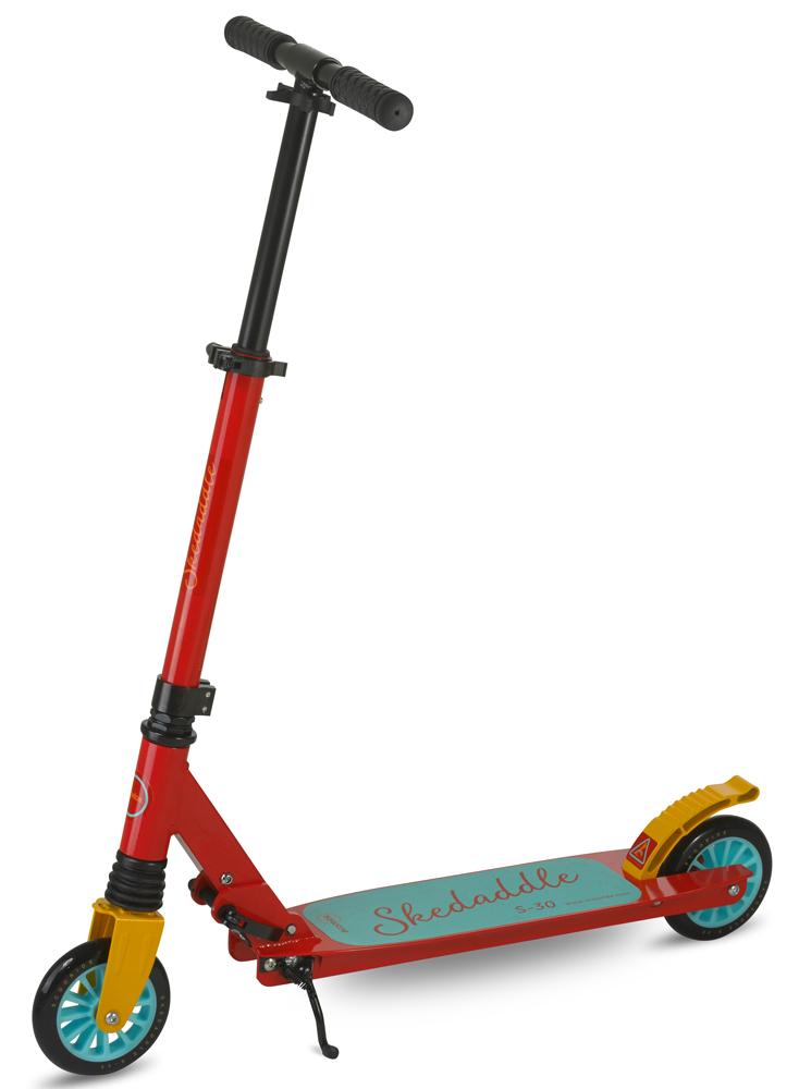 Scooride Skedaddle S-30 Premium Folding Kids Kick Scooter - Red