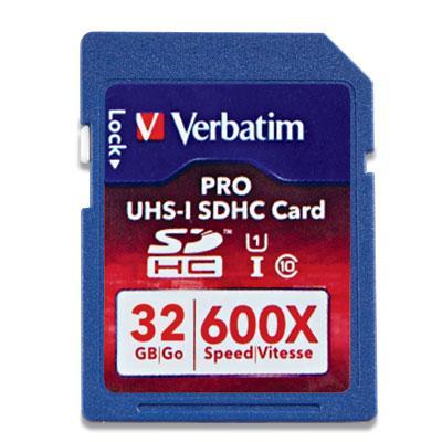 Pro 600X SDHC Memory Card, Class 10 UHS-1, 32GB