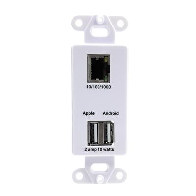 GAF USB2 PoE Splitter