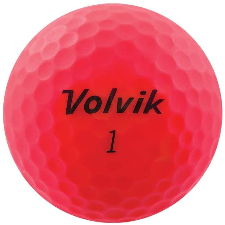 Volvik 2020 Vivid 3 Pc Golf Balls Matte Pink