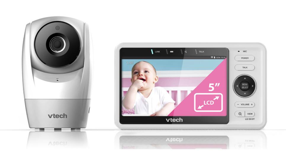 VTECH 5in PAN & TILT VIDEO BABY MONITOR