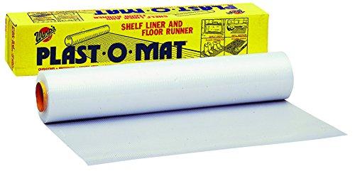 100 Feet Clear Plast-O-Mat Ribbed Floor Runner