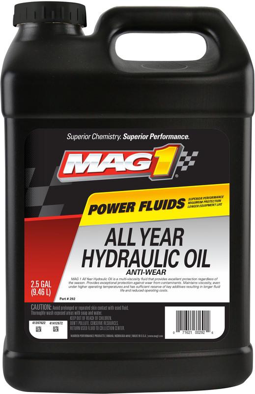 00292 2.5G AW ALLYEAR HYDR OIL