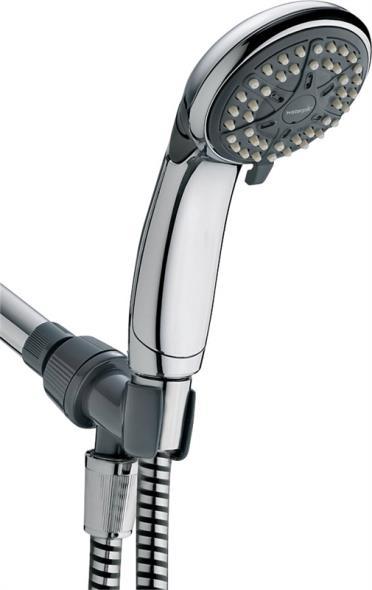 Water Pik VBE453 Ecoflow, Personal Shower, Hand Held, 3 Spray, Chrome