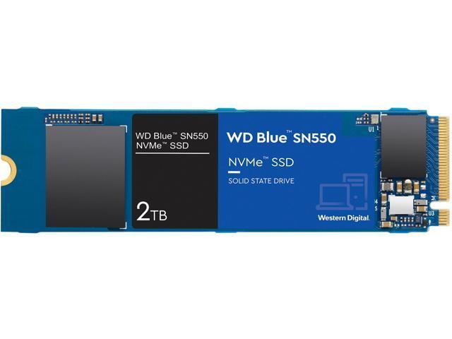 WD Blue SN550 NVMe M.2 2280 2T