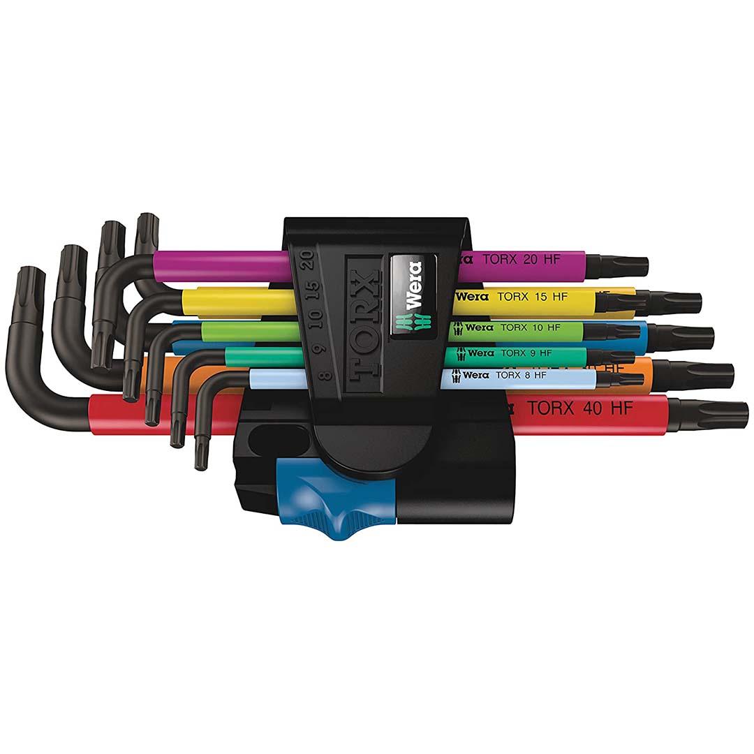 Wera TORX L-Key Wrench Set (9-Piece)