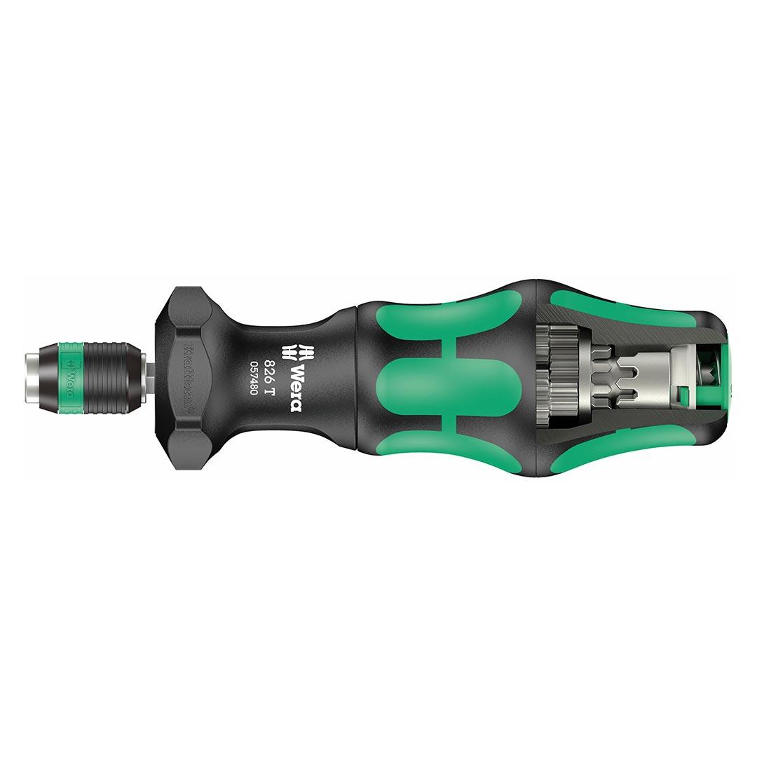 Wera Bit-holding Screwdriver Handle with Rapidaptor Quick-Release